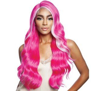 Beautiful Colorful Lace Front Wig
